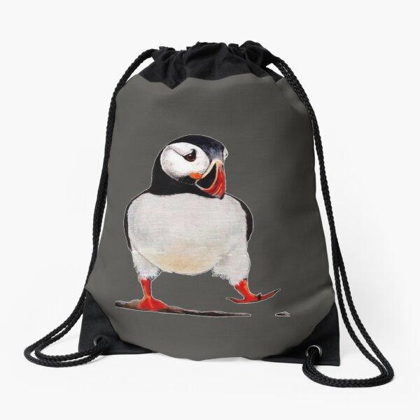 Puffin Drawstring Bag