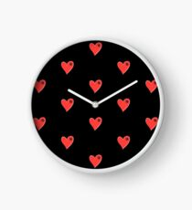 VW Large love heart/VW logo  Clock