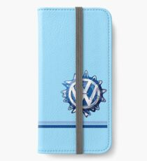 VW Classic Swirl and lines  iPhone Wallet