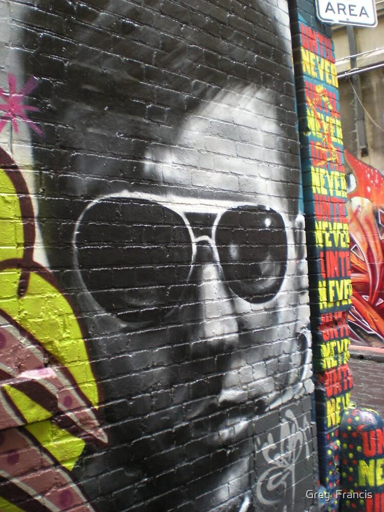 Cool Graffiti by Greg  Francis