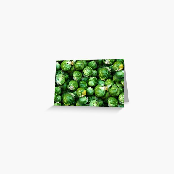 Sprouts Forever (pattern) Greeting Card