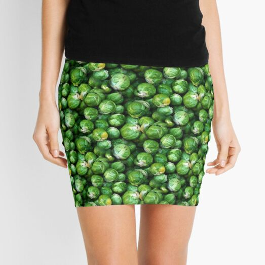 Sprouts Forever (pattern) Mini Skirt
