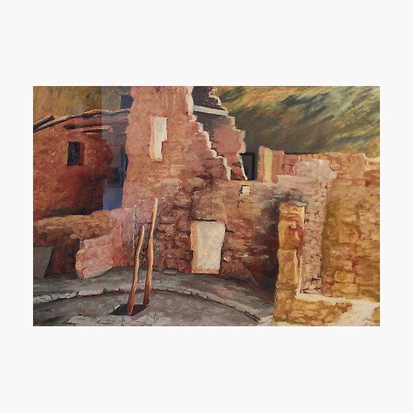 Mesa Verde Ruins Photographic Print