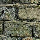 Old cracked brickwork by mrivserg
