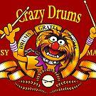 Crazy Drums by Ikado Art