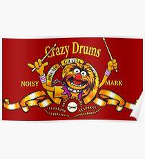 Crazy Drums Poster