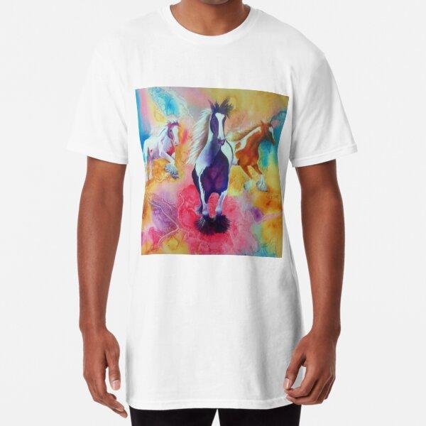 Painted Horses Long T-Shirt