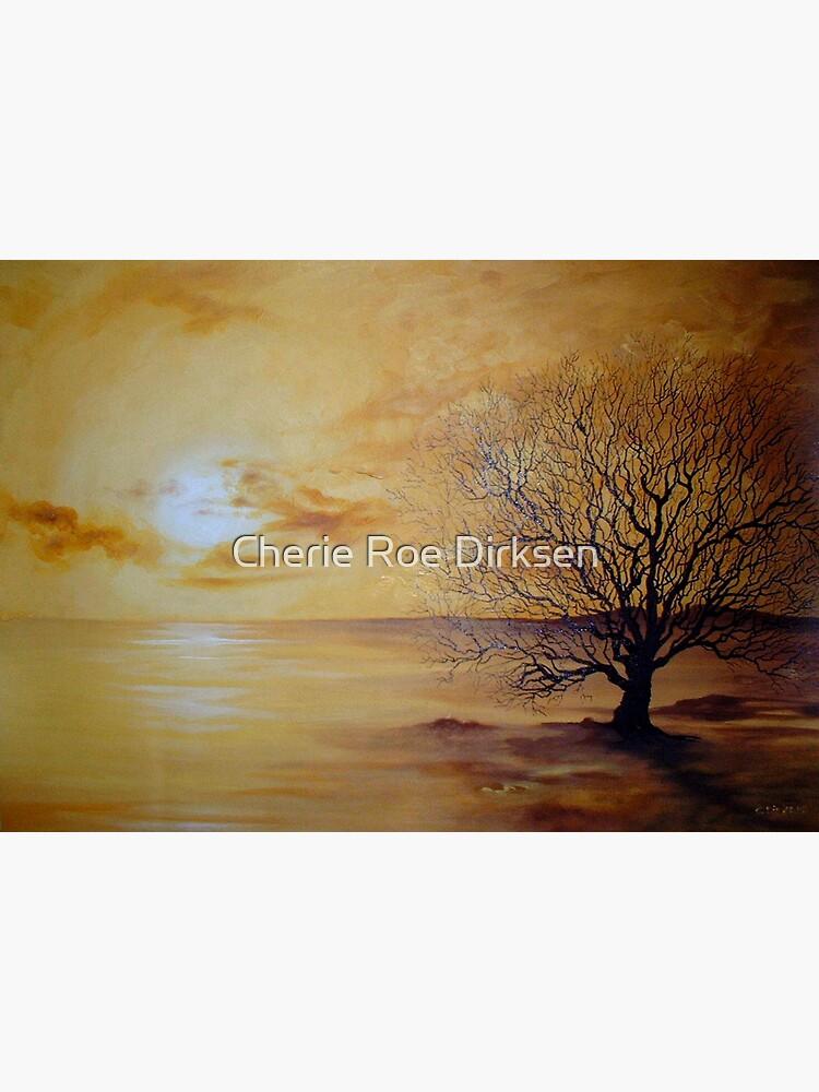 Yellow Skies, Lonely Tree by cheriedirksen