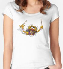 Animalien Women's Fitted Scoop T-Shirt