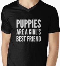 Puppies are a girl's best friend T-Shirt