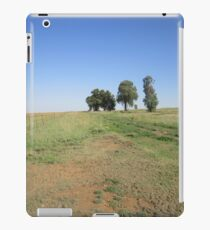 Trees and fence iPad Case/Skin