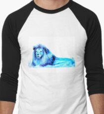 Blue Lion Men's Baseball ¾ T-Shirt