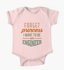 Forget Princess - Engineer One Piece - Short Sleeve