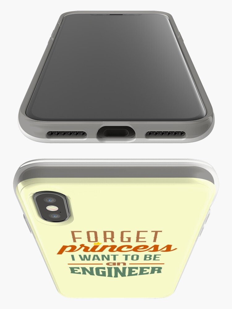 Alternate view of Forget Princess - Engineer iPhone Cases & Covers
