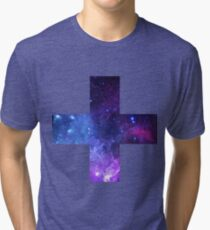 Intersecting Stars Tri-blend T-Shirt