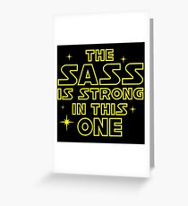 starwars Greeting Card
