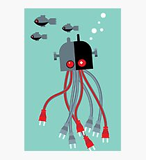 robot octopus Photographic Print