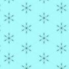 Tiny stars on light blue background pattern by Silvia Ganora