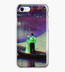 Vietnamese riverboat wedding iPhone Case/Skin