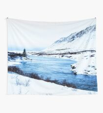 Cold River Wall Tapestry