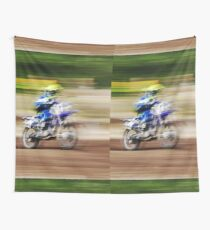 motocross 9 (t) in Modern Art ! by way Olavia-Okaio Creations with fz 1000 .... 500 000 2016 Photos Wall Tapestry