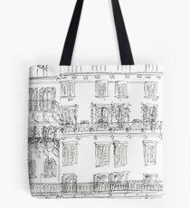 Italian Palazzo Tote Bag
