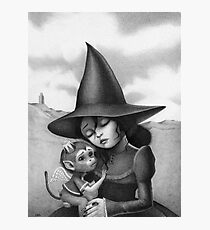Lullaby for a Witch  Photographic Print