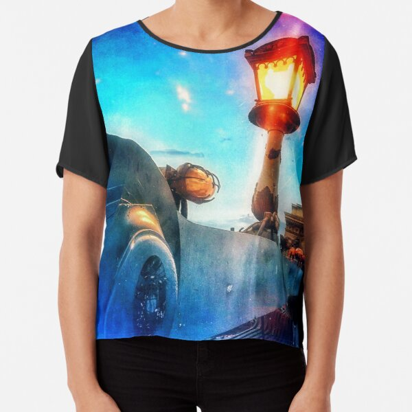 Wake Up Positive Today. Join the Happiness Movement Chiffon Top