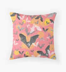 ANIMALS #bat halloween Throw Pillow