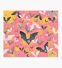 ANIMALS #bat halloween Photographic Print