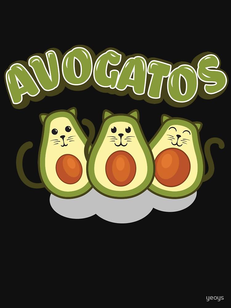 Avocado Gifts > Funny Avocado Cats > Avogatos > Avocado von yeoys