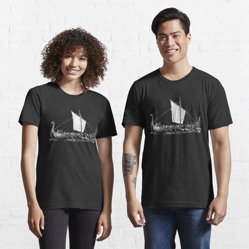 Viking Motive > Viking Boat > Long Boat Essential T-Shirt