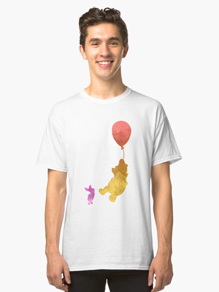 Friends Inspired Silhouette Classic T-Shirt Front