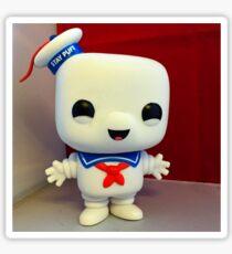 Marshmallow Man Sticker