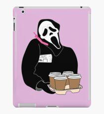 Vinilo o funda para iPad Cara de fantasma
