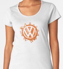 Orange VW Swirl Women's Premium T-Shirt