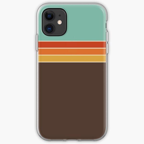 1970s Sport Stripe iPhone Soft Case