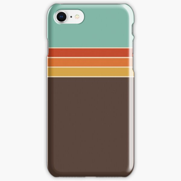1970s Sport Stripe iPhone Snap Case