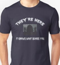 They're here poltergeist movie T-Shirt