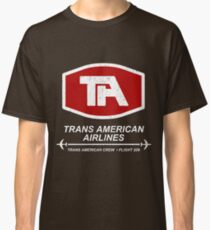 Airplane - Trans American Airlines Classic T-Shirt