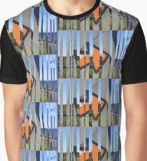 Bar Code To Beach Graphic T-Shirt
