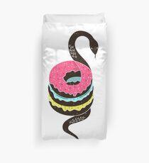 Snake Donuts Duvet Cover