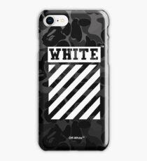 Off-White Bape Camo Black iPhone Case/Skin