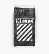 Off-White Bape Camo Black Duvet Cover