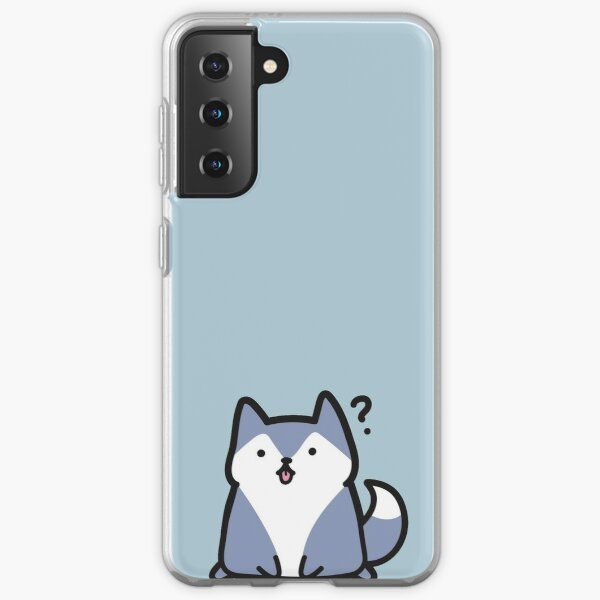 Simple Husky Understands Nothing and has Absolutely No Education Samsung Galaxy Soft Case