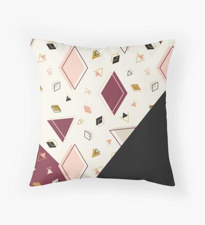 Rhombus Mix #redbubble #decor #buyart Throw Pillow