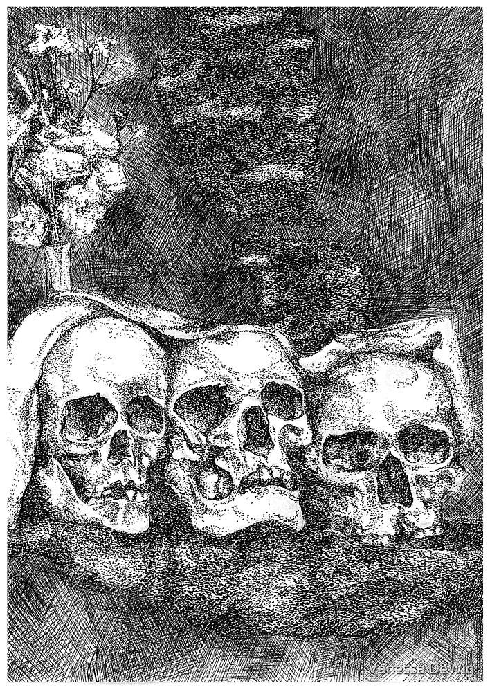 three amigos by Vanessa DeWig