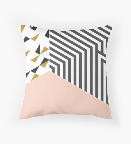 Pink&Gold Room #redbubble #decor #buyart Throw Pillow