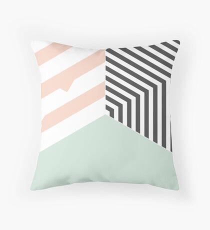 Mint Room #redbubble #decor #buyart Throw Pillow