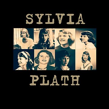 Sylvia Plath by LiseBriggs